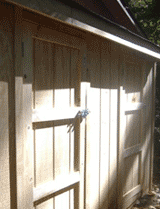 New World Painting Project: Shed Construction